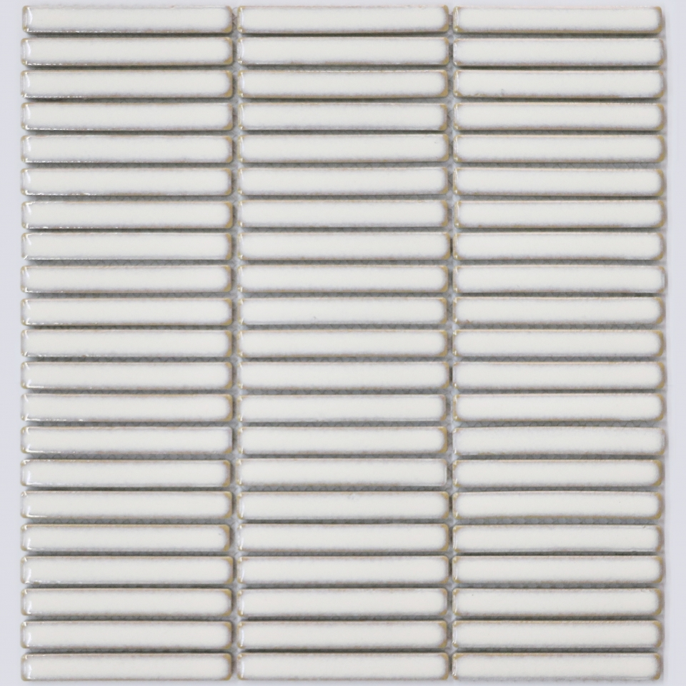 Finger Mosaic Antique White M2 Tiles
