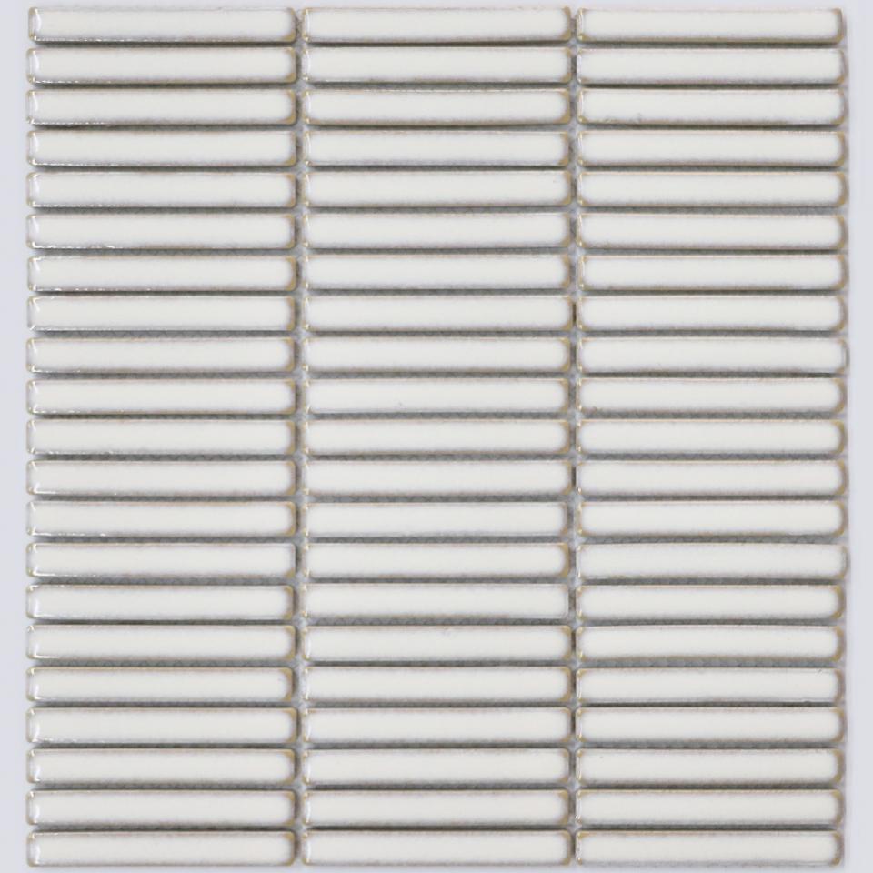 Finger Mosaic Antique White M2 Tiles