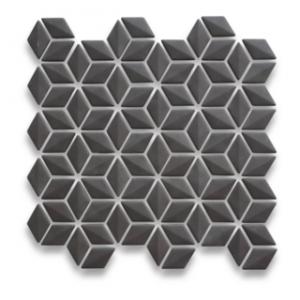 VM 981 Black Rhombus Mosaic 280x283